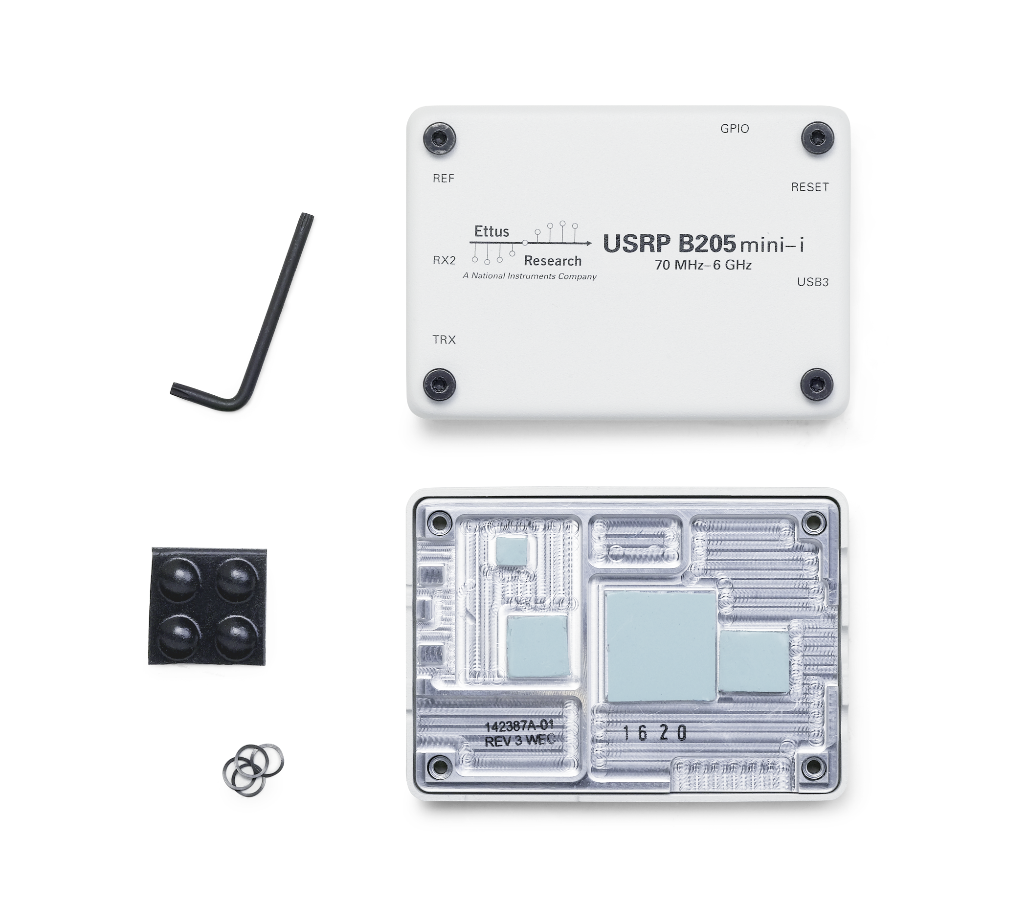 USRP B205mini-i enclosure kit