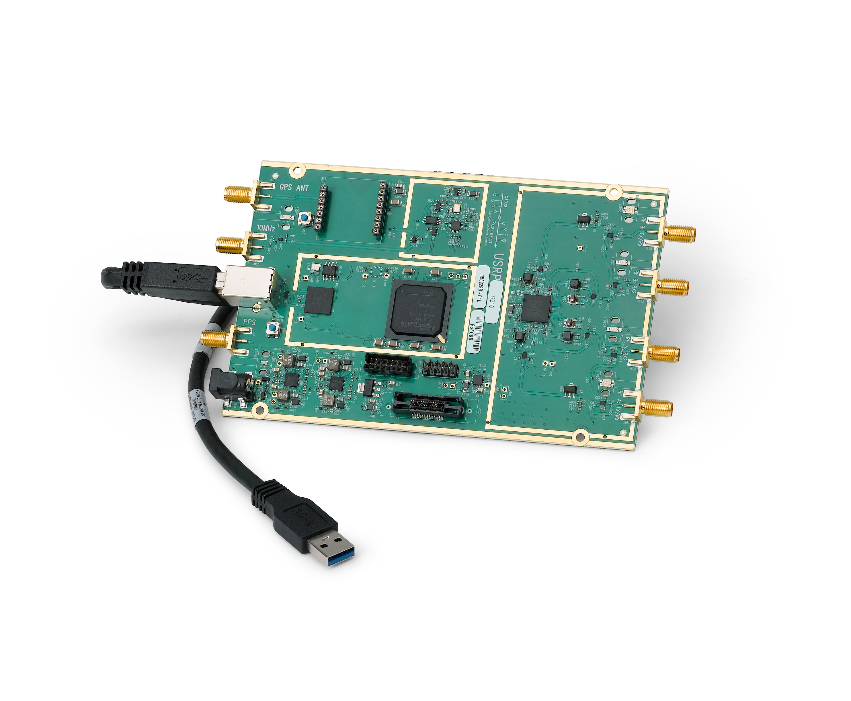 USRP B210 USB Software Defined Radio (SDR) - Ettus Research | Ettus