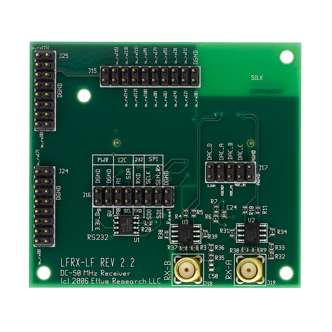 LFRX Daughterboard 0-30 MHz Rx
