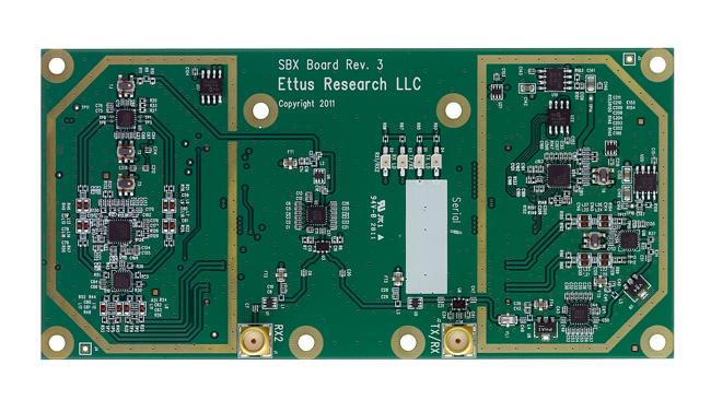 SBX 400-4400 MHz Rx/Tx (40 MHz)