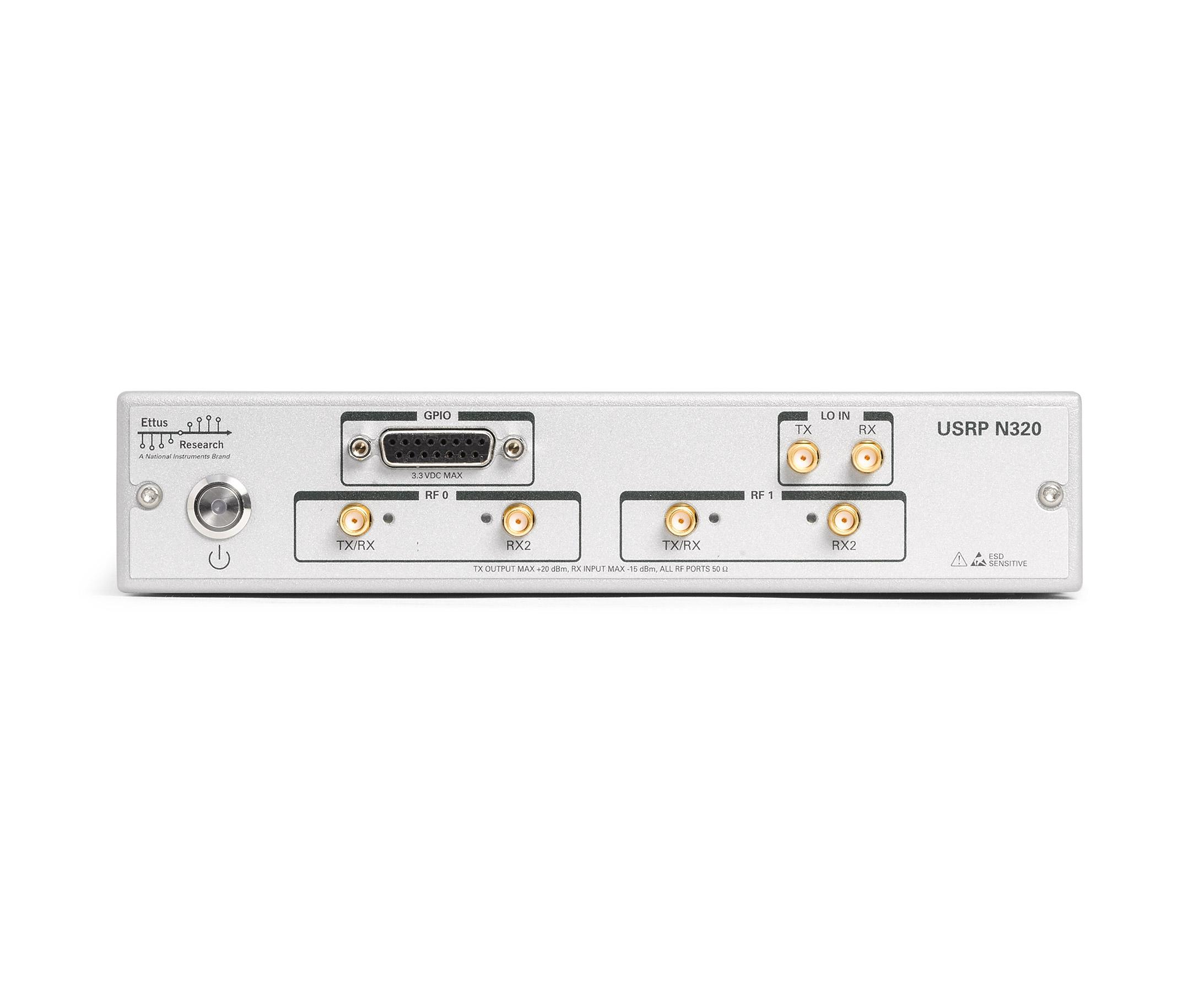 USRP N320 Front panel